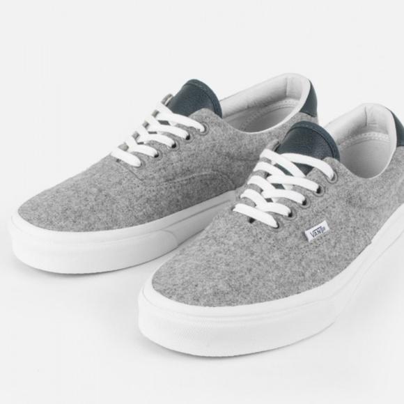 Vans Other - Vans Era 59 (Varsity) Grey True White Size 9.5 20788f6c6